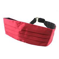 Tie Пояс камербанд темно-красный (кушак)