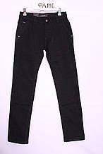 Теплі джинси чоловічі 28-34рр. чорного кольору LS Luvans (код 5644)