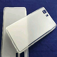 Чехол силиконовый Doogee x5 белый, фото 1