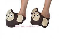 Тапочки - игрушки Чебурашка Размер 25 - 45