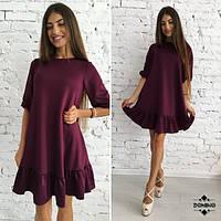Легкое женское платье, хит 2016-2017