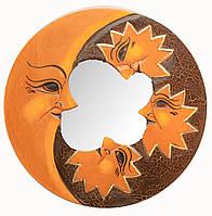 Зеркало мозаичное Луна и Звезды (d-20 cм)
