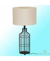 Декоративная настольная лампа с абажуром в спальню EGLO Bollengo 94361