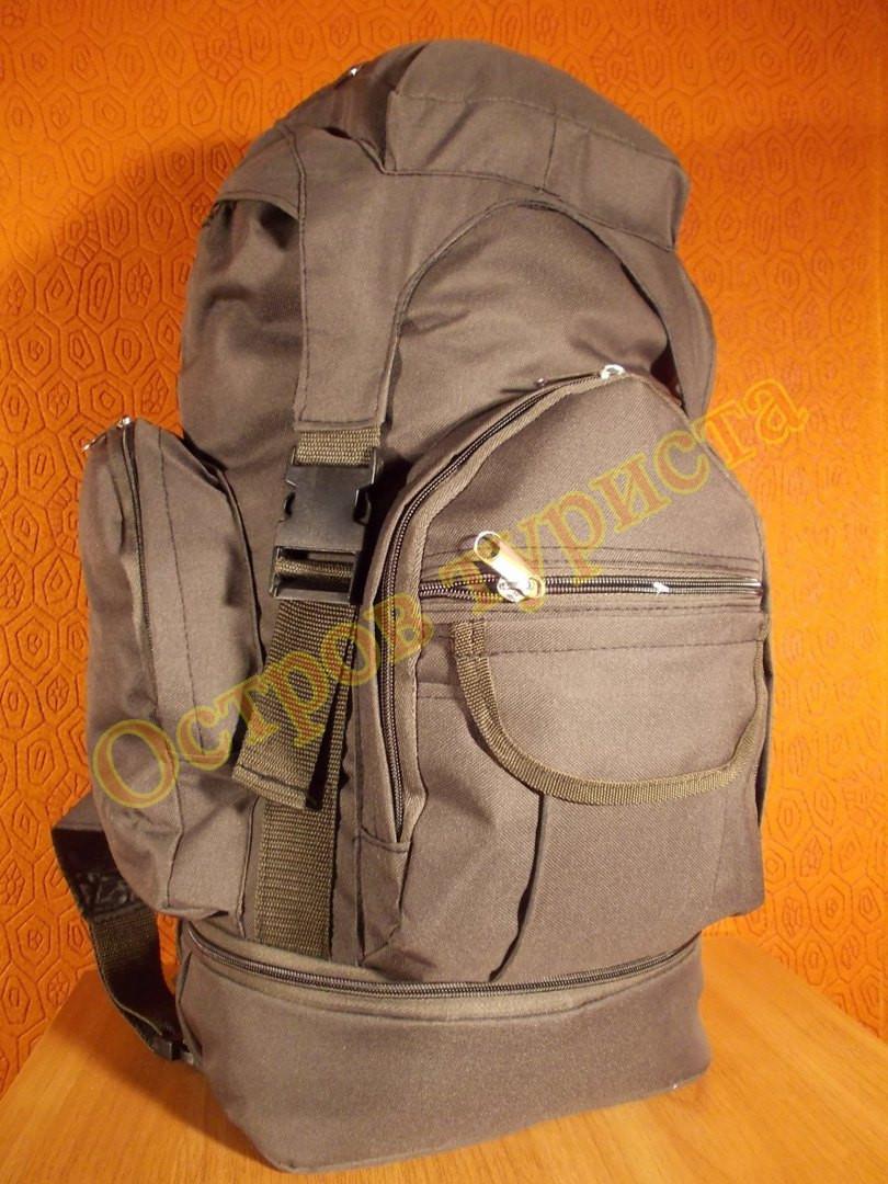 Рюкзак туристический  серый Козак 1222 50 литров