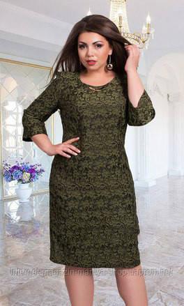 Платье женское батал