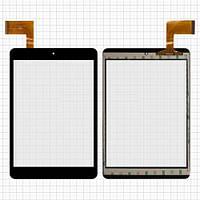 """Сенсорное стекло Nomi A07850, FPC-UK078015G-01 V02, 7,85"""" 40 pin черное"""