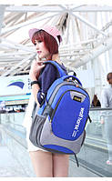 Синий рюкзак wolf horse