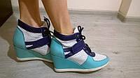 Демисезонные женские ботинки из натуральной кожи р.36-41