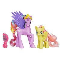 Набор Принцесса Стерлинг и Флаттершай Май Литтл Пони (My Little Pony Princess Sterling and Fluttershy Figures), фото 1
