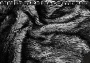 Мех искусственный чернобурка, фото 3