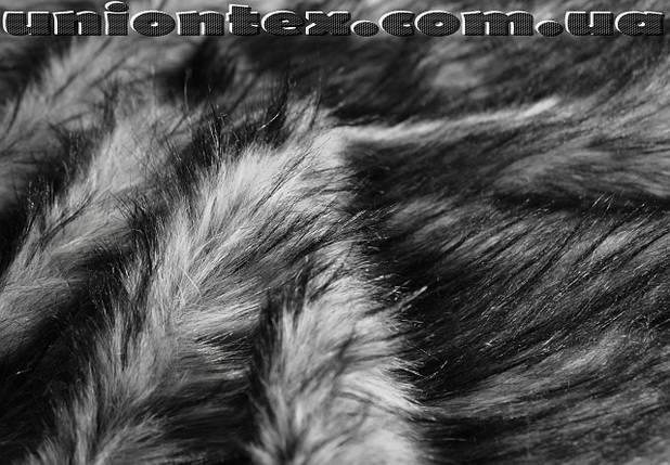Мех искусственный чернобурка, фото 2
