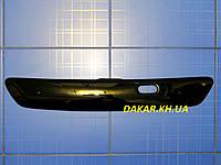 Зимняя заглушка решётки радиатора Opel Astra G верх 1998-2008 глянец Fly. Утеплитель решётки Опель Астра