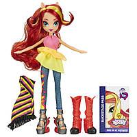 Кукула Сансет Шиммер Девушки Эквестрии My Little Pony Equestria Girls Sunset Shimmer Doll)