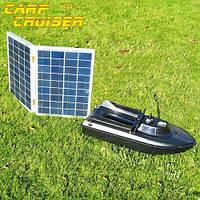 Солнечная панель для зарядки литиевого аккумулятора, кораблика для прикормки JABO AL серии, 2х20W(40W)-5V , фото 1