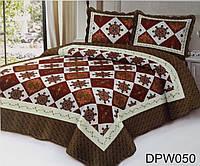 Печворк на кровать с узором оптом и в розницу + 2 наволочки