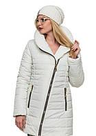 Женская модная зимняя куртка 2017 (белый), рр 44-54