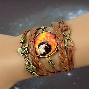 Bow Tie House™ Браслет космический Огненная туманность