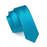 Галстук мужской сине-зеленый классический 100% шелк JASON&VOGUE