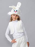 Детский карнавальный костюм Белоснежный заяц