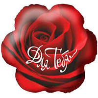 Гелиевый шар Цветок РУС-20 Для тебя 18/45см , арт. 70620-18