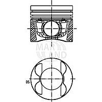 Поршеннь 1,6i 2000- AVU/BSF/BGU/ BSE