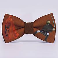 Bow Tie House™ Бабочка коричневая - Имперский советник и джедай
