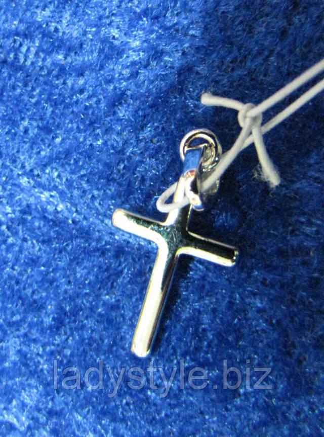 серебряный крестик купить