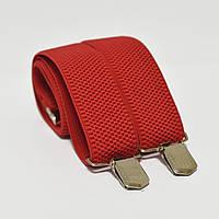 Польша Подтяжки мужские красные 3.5 см Y (Польша)