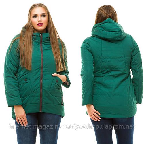 Куртка женская батал осень