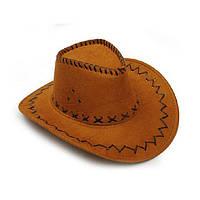 Шляпа горчичная ковбойская Cowboy hat