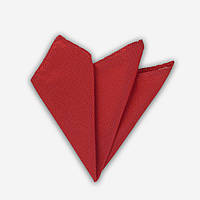 Bow Tie House™ Платок красный текстурный с белой нитью