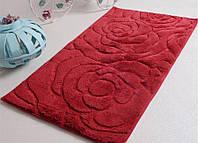 Коврик для ванной из хлопка 70х120 IRYA PRETTY красный