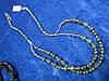 Бусы из змеевика (серпентина) от Студии  www.LadyStyle.Biz
