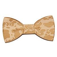 Bow Tie House™ Деревянная бабочка на магните текстурная в разводы
