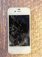 iPhone 5. Разбили дисплей на майдане в Киеве. Ремонт утопленника рисовой крупой.