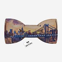 Bow Tie House™ Деревянная бабочка мост Соединенные Штаты акрил