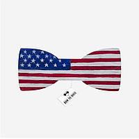 Bow Tie House™ Деревянная бабочка - флаг Соединенных Штатов Америки
