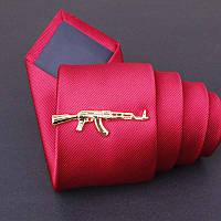 Bow Tie House™ Зажим для галстука автомат Калашникова - золотистый