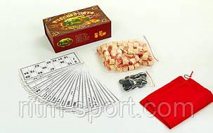 Лото у картонній коробці (23 * 13 * 7,5 см), фото 2