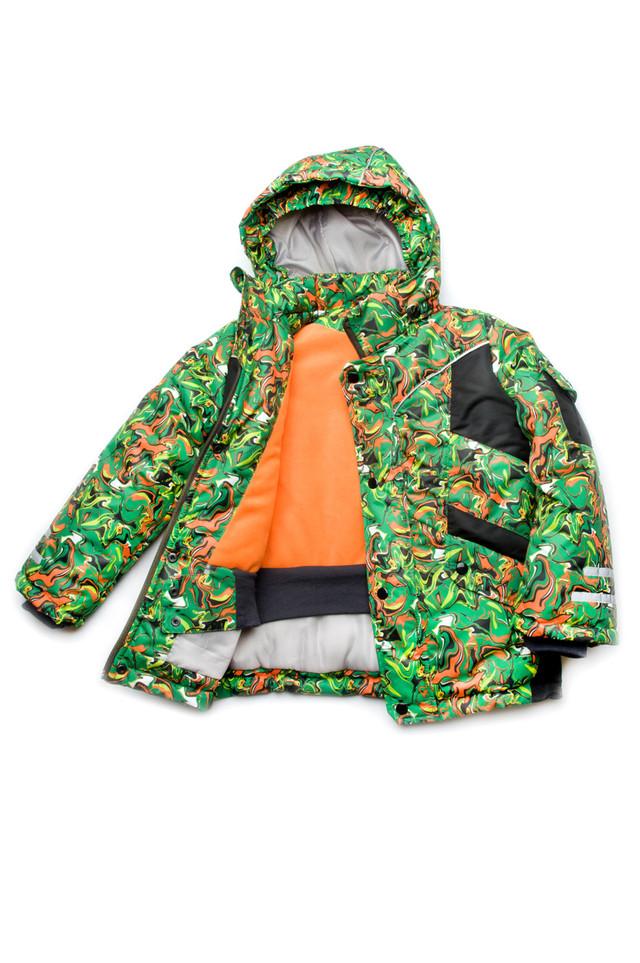 Утепленная зимняя куртка для мальчика от ТМ