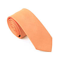 Bow Tie House™ Галстук оранжевый узкий 6 см