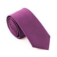 Галстук мужской цвета фуксия узкий 6 см Bow Tie House™
