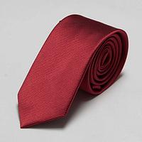 Галстук мужской темно-красный узкий 6 см Bow Tie House™