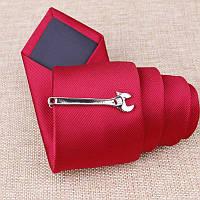 Bow Tie House™ Зажим для галстука в форме разводного ключа - серебристый
