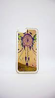Силиконовый чехол TPU Аквариум с блестками iPhone 6/6s