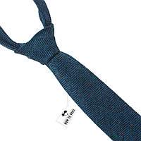 Галстук мужской шерстяной голубой величественный Bow Tie House™