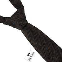 Галстук мужской шерстяной коричневый величественный Bow Tie House™