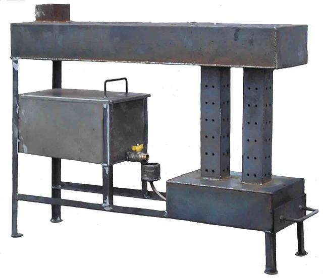 Купить печка для гаража на отработке гараж купить в чебоксарах северо западный район