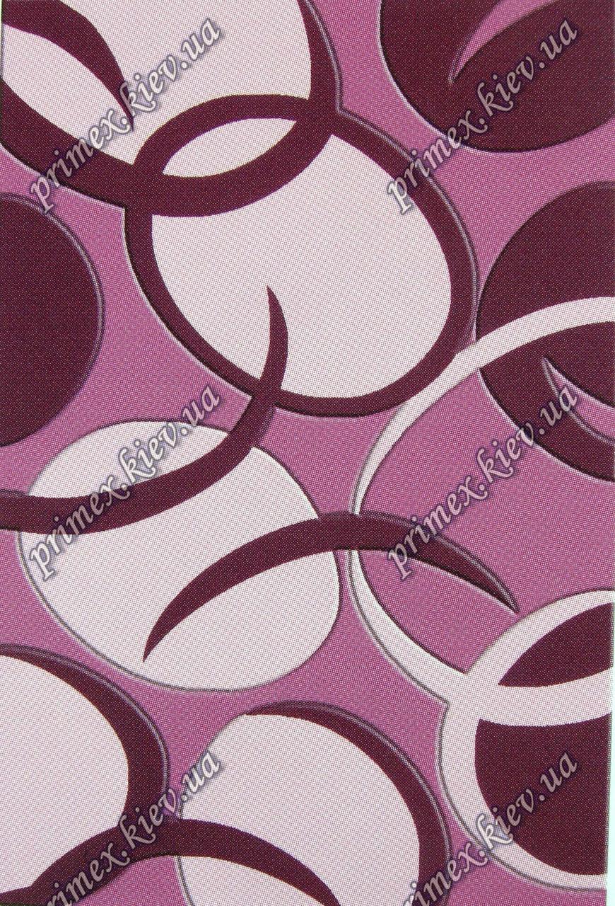 """Рельефный ковер Радуга """"Секрет"""", цвет темно-розовый"""