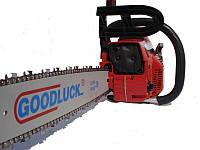 Бензопила Goodluck 4300С, 2 шины, 2 цепи, 2,4л/с